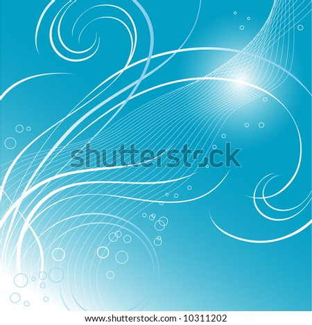 abstract blue sea or sky background