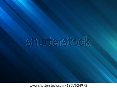 Abstract blue stripes background. Design template for brochures, flyers, magazine