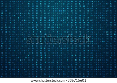 abstract blue technology