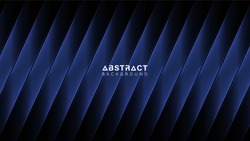 Abstract blue vector background with stripes.