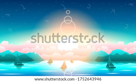 abstract blue water ocean sea