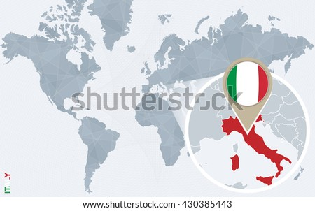 Free Vector Map Of Italy Free Vector Art At Vecteezy - Italy world map