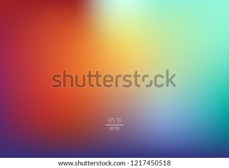 abstract blur background - colorful blurry background, vector #1217450518