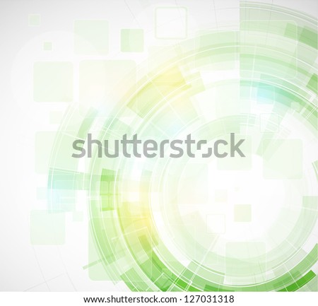 abstract blur eco green