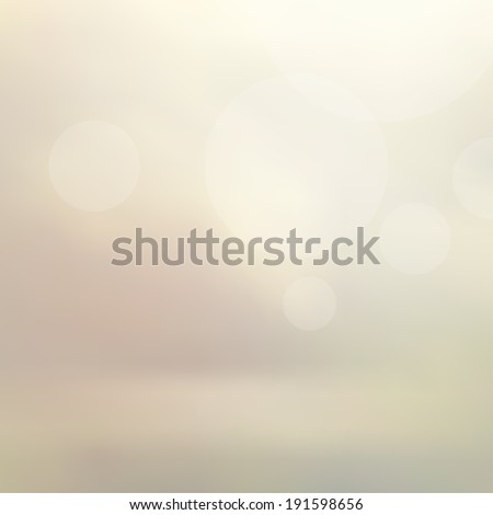 Abstract blur vector background with bokeh. Colorful banner.  Background with place for your text.