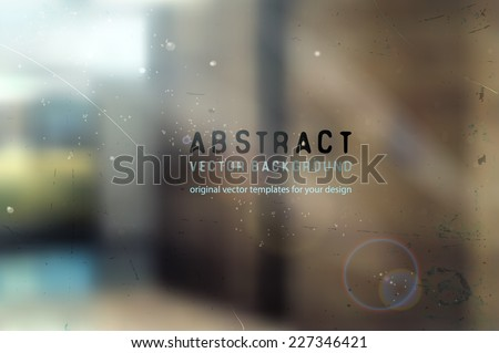 abstract blurred architectural