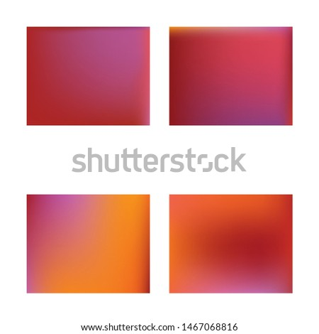 Abstract blurred background for your projects. Vector illustration art. Simple backdrop with simple muffled colors. Red celebration template for your graphic design, user interface or app.