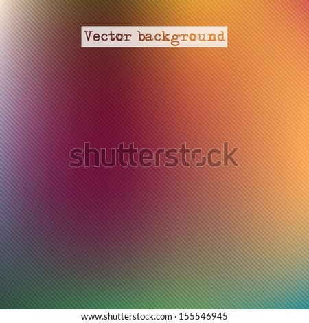 Abstract blurred background. Soft background with striped seamless pattern. Vector illustration EPS 10.