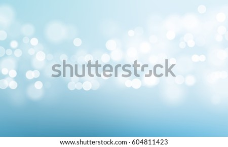 abstract blurred blue sky