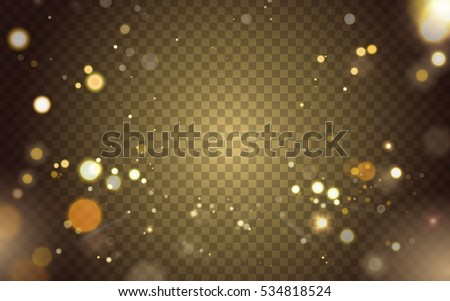 abstract blurred light element