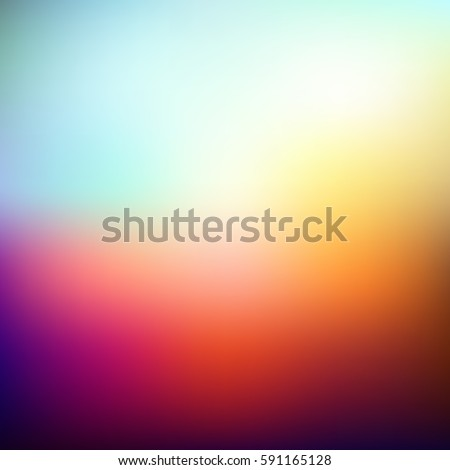 abstract blurred vector color