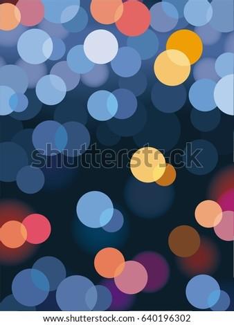 abstract bokeh   abstract light