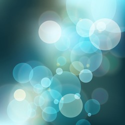 Abstract bokeh background, vector illustration with clipping mask