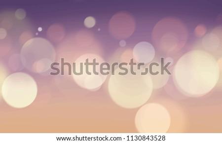 abstract bokeh blurred lights