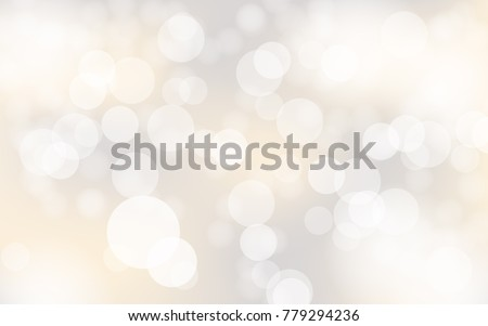 abstract bokeh lights with soft