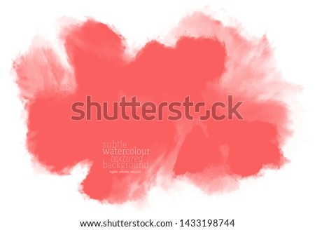 abstract bold red ink splash. powder explosion on white background. vibrant water color art splotches. eps 8