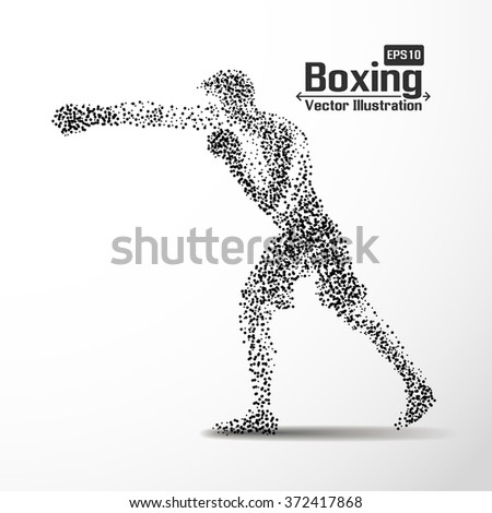 abstract boxing from dot