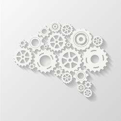 Abstract brain gear
