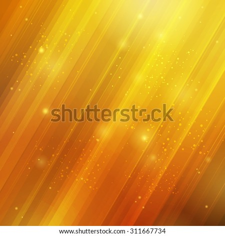 Abstract bright background. Yellow and orange sunny square background. There is place for text.