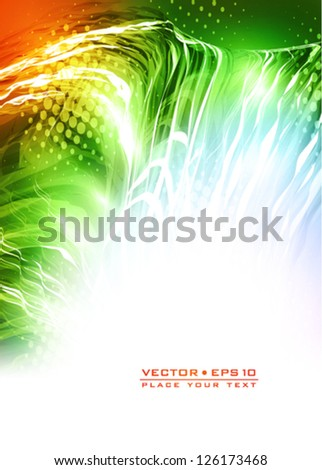 Abstract bright colorful background. Vector