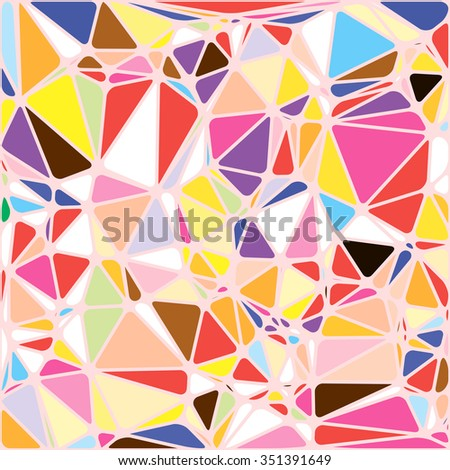 abstract bright colorful random