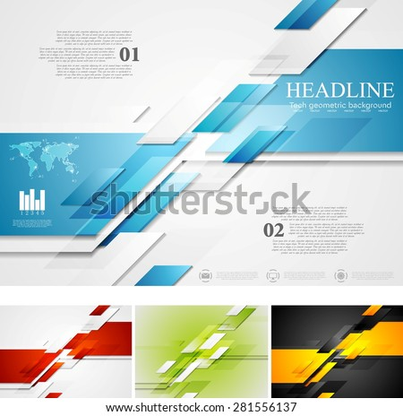 stock-vector-abstract-bright-corporate-tech-background-four-colors-vector-card-design