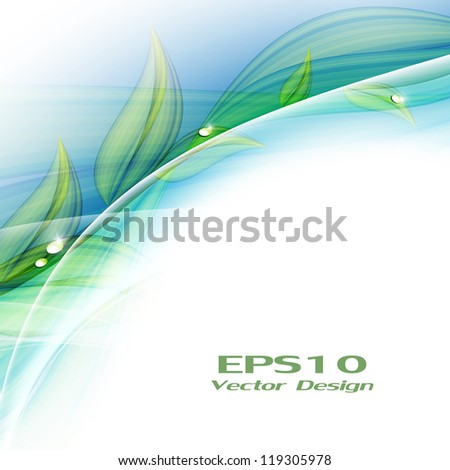 abstract bright floral vector background. Eps10