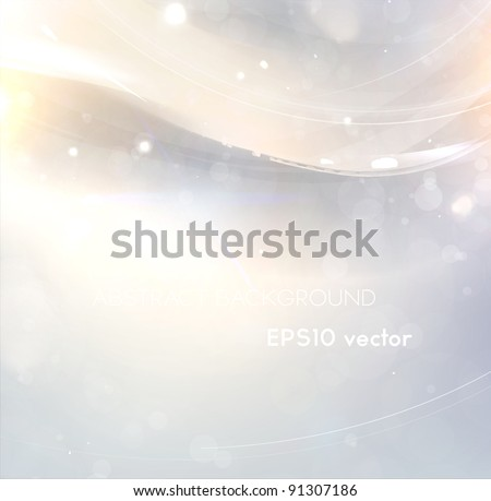 Abstract bright shine background with free place for text