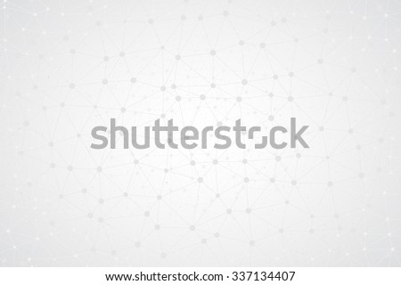 Abstract bright simple tech vector background. Connection structure. Polygonal vector wallpaper. Abstract science background. Bright vector wallpaper. Science background. Technology background