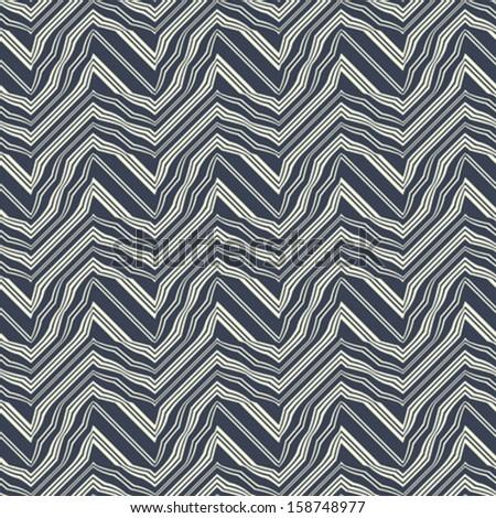 Abstract broken striped textured  seamless pattern. Vector.