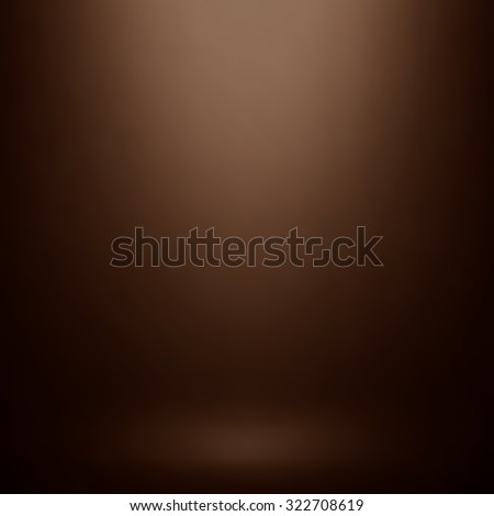 Abstract brown gradient. Used as background for product display.
