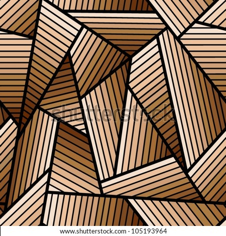 Abstract brown seamless pattern.