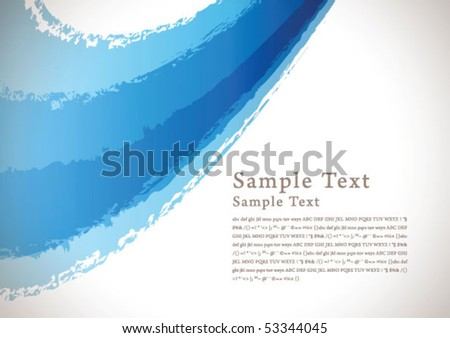 abstract brush background 02