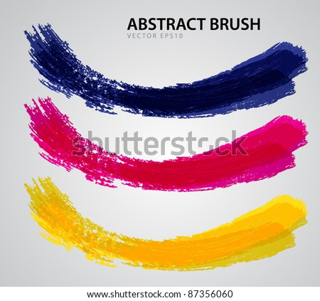 Abstract Brush vector esp10