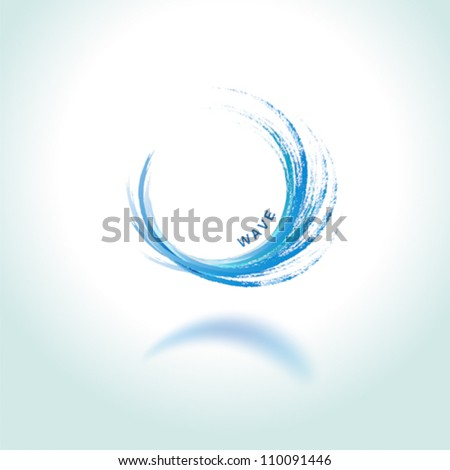 abstract brushwok background