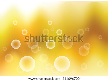 abstract bubble blur background