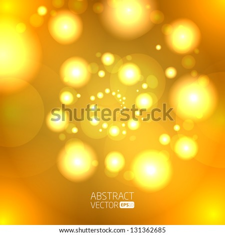 abstract bubbles vector