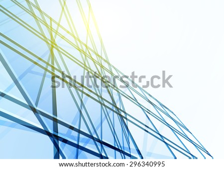 abstract building from the