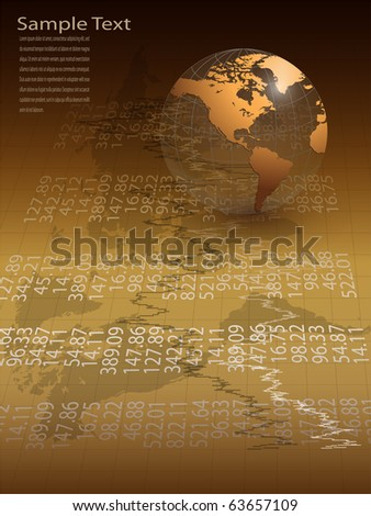 Abstract business background elegant gold, vector.