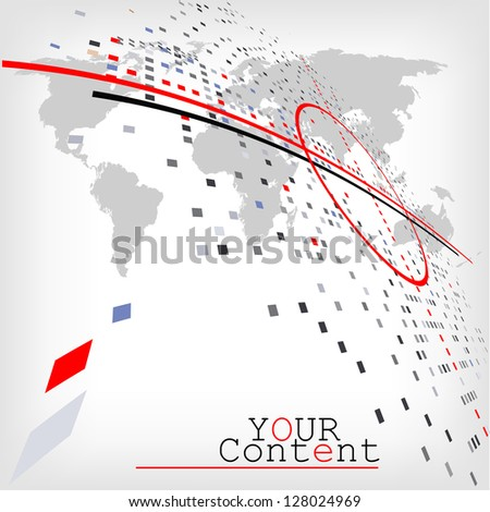 Abstract business background for web design - vector illustration
