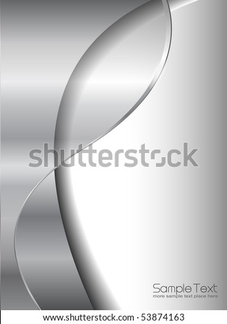 Abstract business background, grey silver metallic.