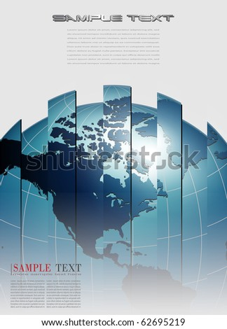 abstract business background interesting design, vector.