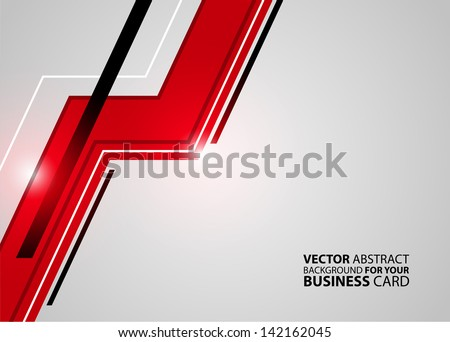 Black and red lined business card download free vector art stock abstract business background vector reheart Gallery