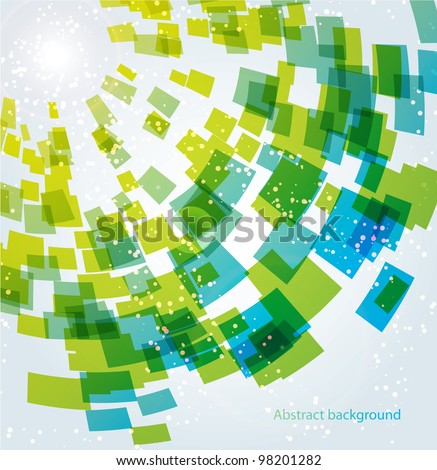 Abstract business background, vector