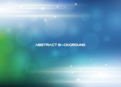Abstract business blue background - vector