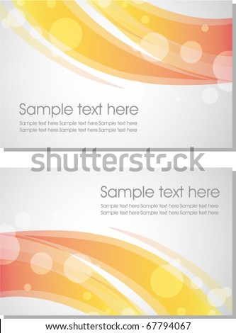 abstract business card 2
