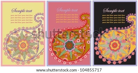 Abstract business card.Illustration business card.