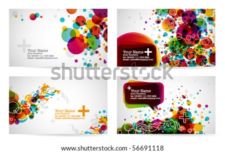 abstract business card templates 2