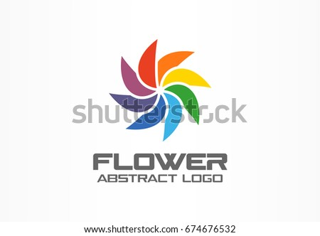 abstract business company logo