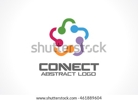 abstract business company logo. ...
